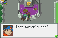 Megaman Battle Network - He must be very thirsty... - User Screenshot